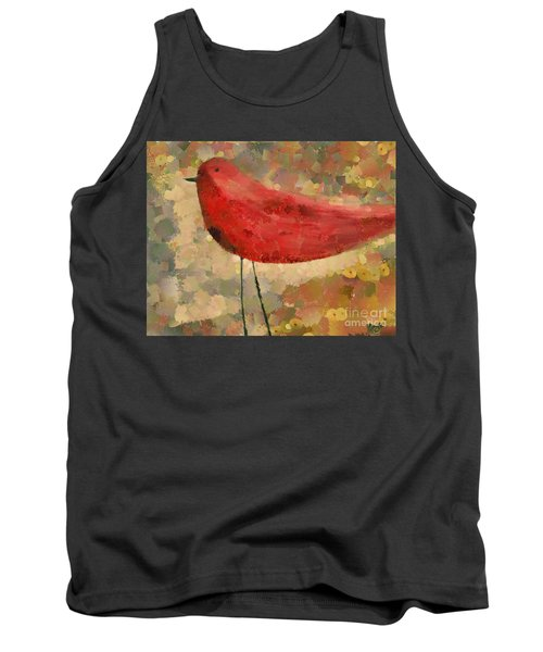 The Bird - K04d Tank Top by Variance Collections