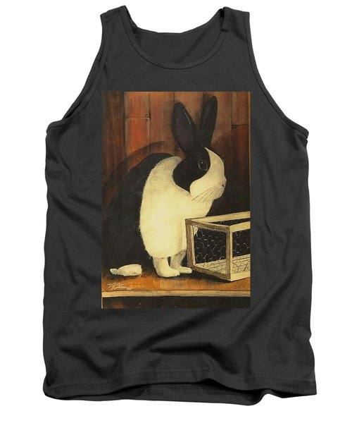The Black And White Dutch Rabbit  2 Tank Top
