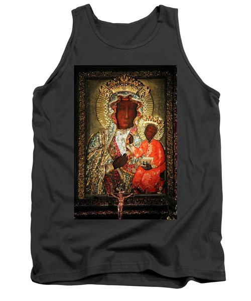 The Black Madonna Tank Top by Mariola Bitner