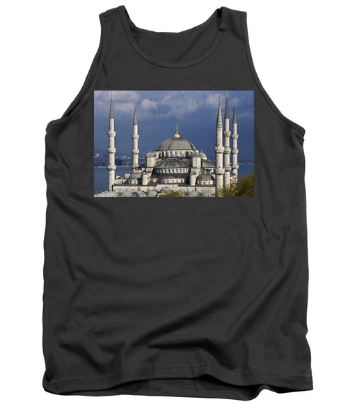 The Blue Mosque In Istanbul Tank Top