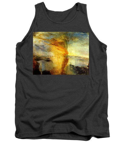 The Burning Of The Houses Of Lords And Commons Tank Top