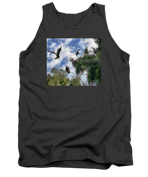 The Buzzard Tree Tank Top by Rhonda Strickland