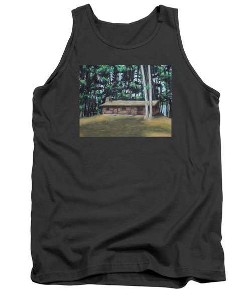 The Cabin Tank Top by Jeanne Fischer