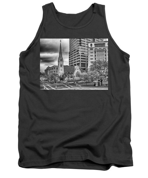 Tank Top featuring the photograph The Church by Howard Salmon