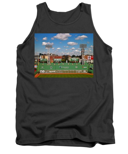 Tank Top featuring the photograph The Classic II Fenway Park Collection  by Iconic Images Art Gallery David Pucciarelli