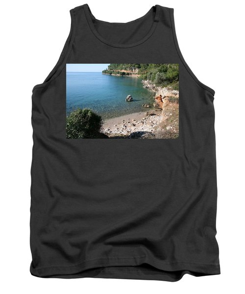 Tank Top featuring the photograph The Coast To Oren  by Tracey Harrington-Simpson
