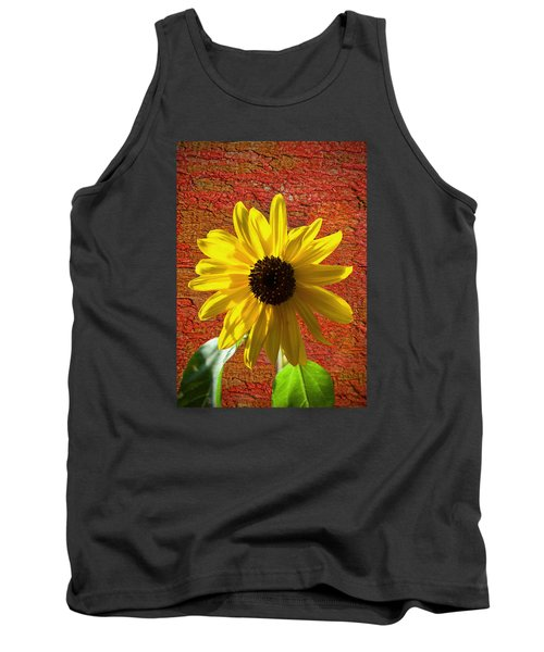 The Contrast Of Time Tank Top by Sandi OReilly