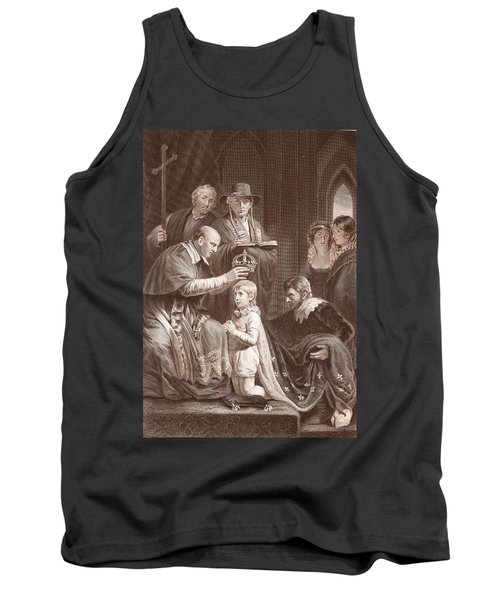 The Coronation Of Henry Vi, Engraved Tank Top by John Opie