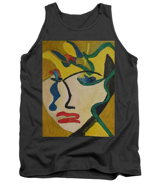The Crying Girl Tank Top