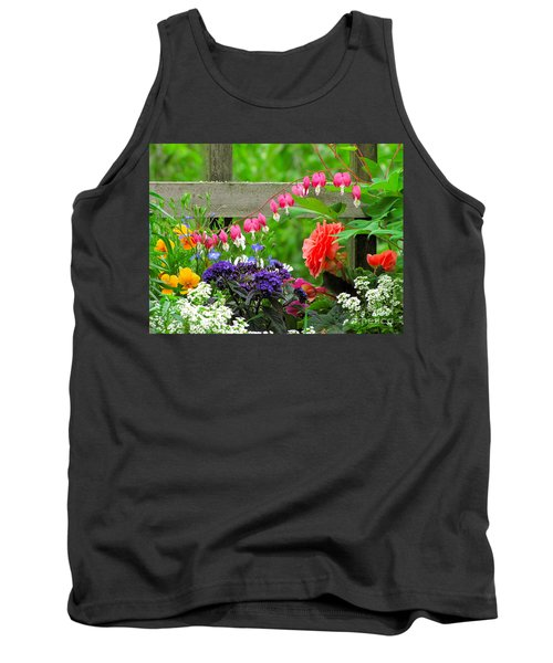 The Dance Of Spring Tank Top by Sean Griffin