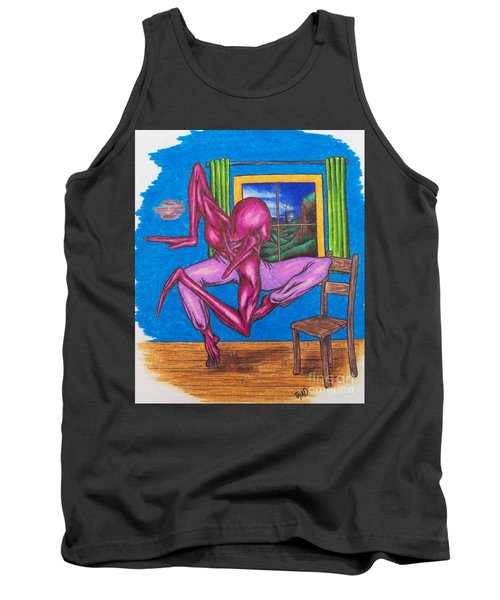 The Dancer Tank Top by Michael  TMAD Finney
