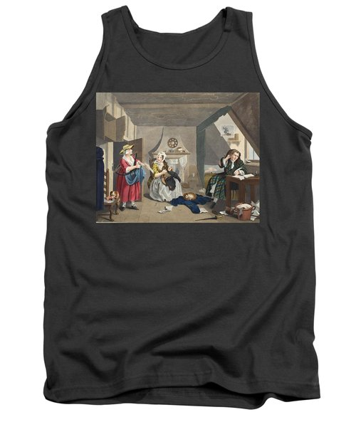 The Distressed Poet, Illustration Tank Top