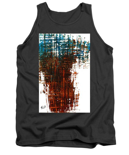 Tank Top featuring the painting The Divine In Us 265.111011 by Kris Haas