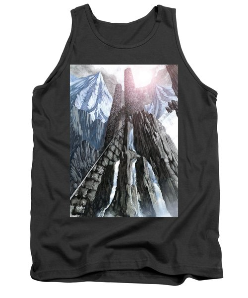 The Dragon Gate Tank Top by Curtiss Shaffer