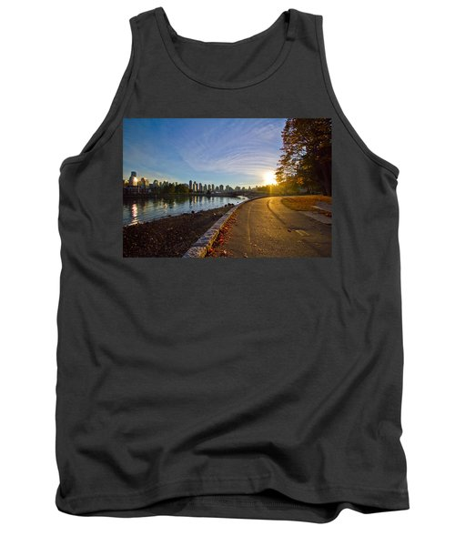 Tank Top featuring the photograph The Emerald City by Eti Reid