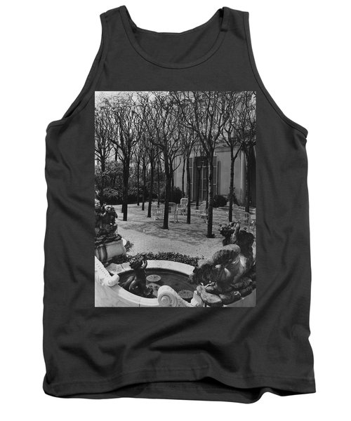 The Garden Of A Home In Meridian Hill Tank Top