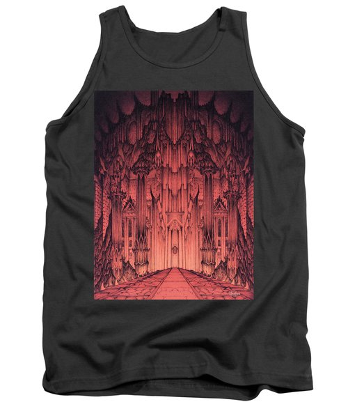The Gates Of Barad Dur Tank Top
