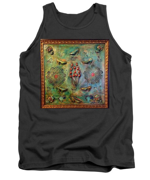 The Gift By Alfredo Garcia Art Tank Top