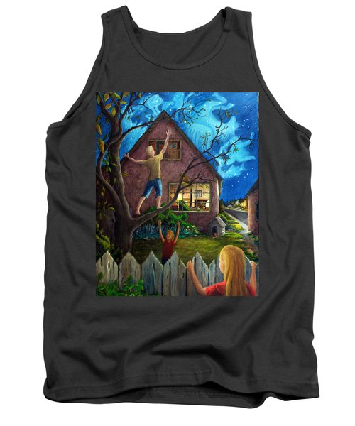 Tank Top featuring the painting The Gleaners by Matt Konar