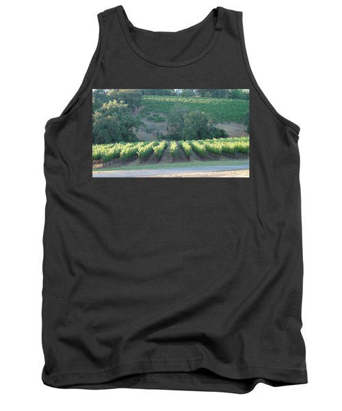 Tank Top featuring the photograph The Grape Lines by Shawn Marlow
