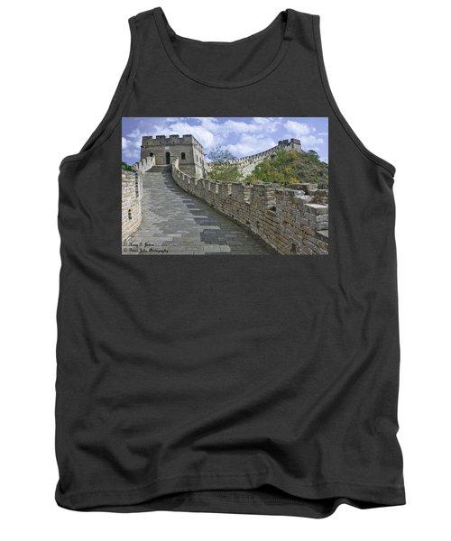 The Great Wall Of China At Mutianyu 1 Tank Top