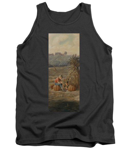 The Harvest Tank Top by Duane R Probus