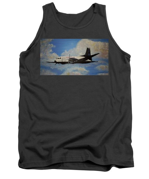 Tank Top featuring the painting The Hawker by Marilyn  McNish
