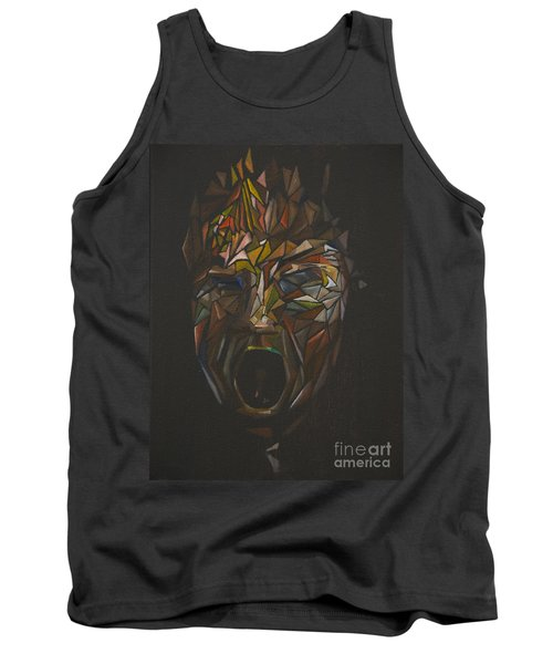 The Head Of Goliath - After Caravaggio Tank Top