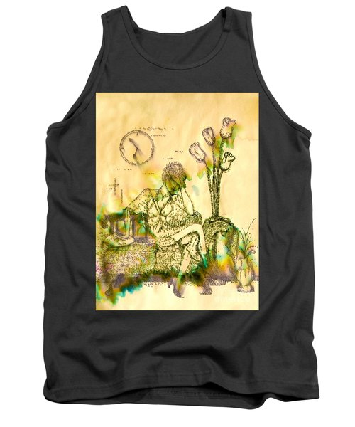 The Hold Up Sepia Tone Tank Top