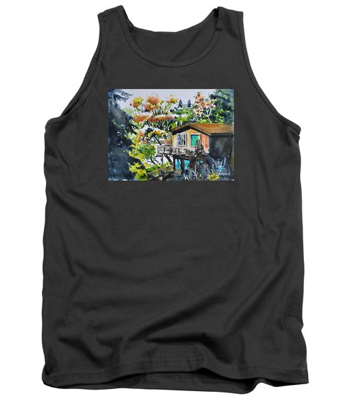 The House Hiding In The Bushes Tank Top