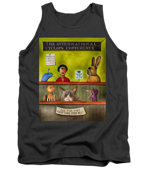 The International Cyclops Conference Edit 3 Tank Top
