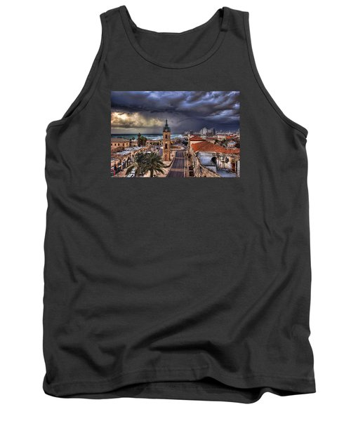 the Jaffa old clock tower Tank Top by Ronsho