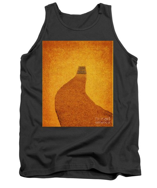 The Journey Pathway Minimalism Tank Top
