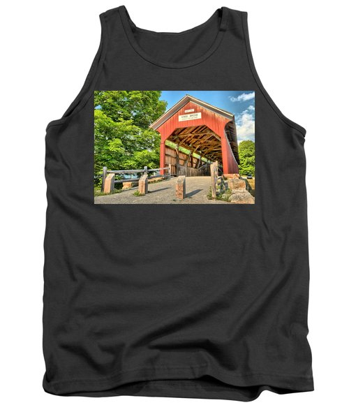 The King Covered Bridge Tank Top