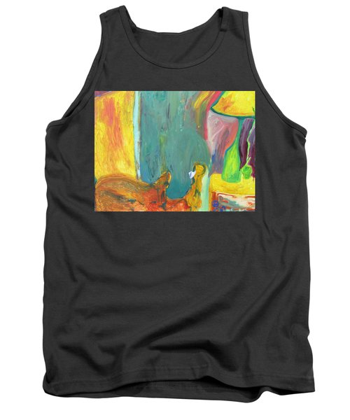 The Lamp And Bamboo Tank Top