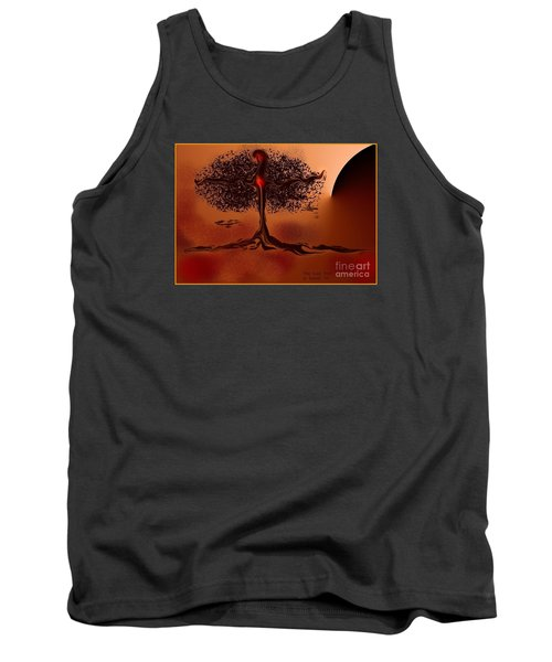 The Last Tree Tank Top by The Art of Alice Terrill