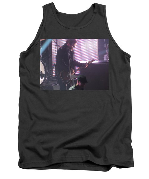 The Leadsinger Of Newsong Tank Top by Aaron Martens