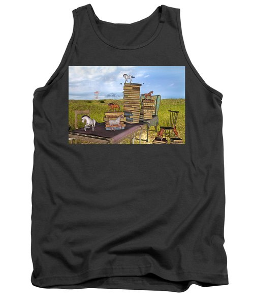 The Library Your Local Treasure Tank Top
