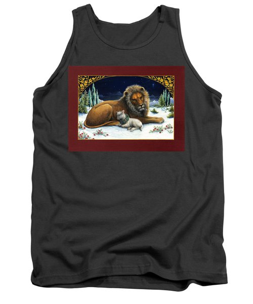 The Lion And The Lamb Tank Top