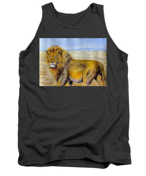 The Lion Rules Tank Top