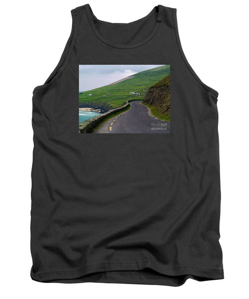 The Long And Winding Road Tank Top by Patricia Griffin Brett