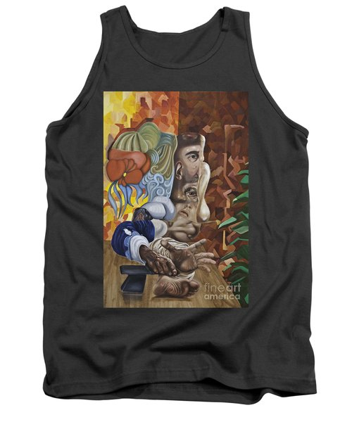 The Mad Sculptor Tank Top