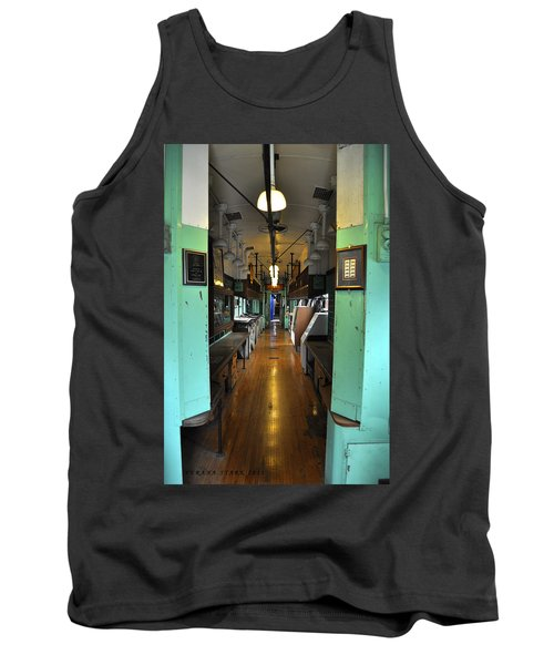 Tank Top featuring the photograph The Mail Car From The Series View Of An Old Railroad by Verana Stark