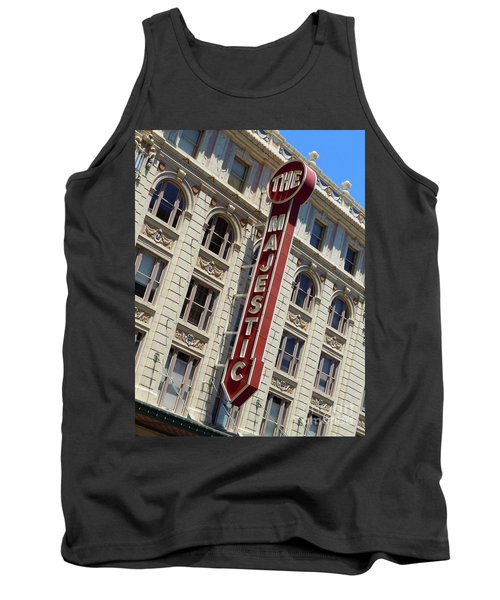 Tank Top featuring the photograph The Majestic Theater Dallas #2 by Robert ONeil