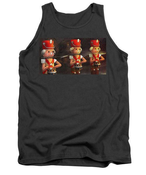 Press Release Christmas Nut Crackers Tank Top