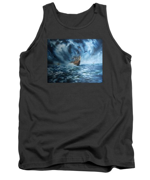 The Mary Rose And Fleet Tank Top by Jean Walker