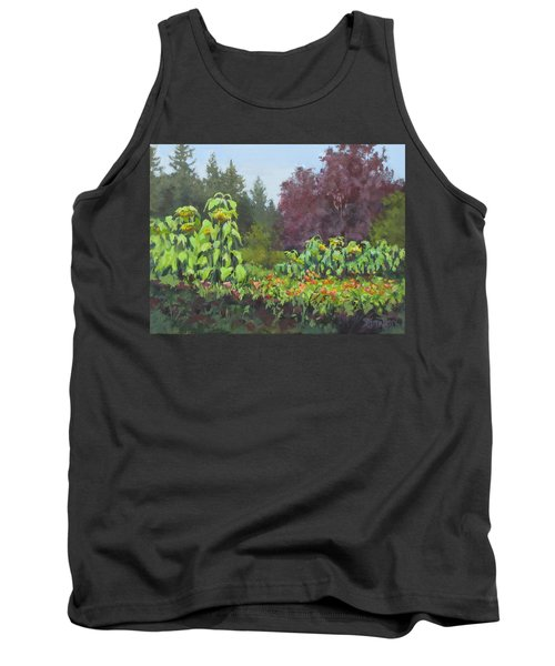 Tank Top featuring the painting The Matriarchs by Karen Ilari