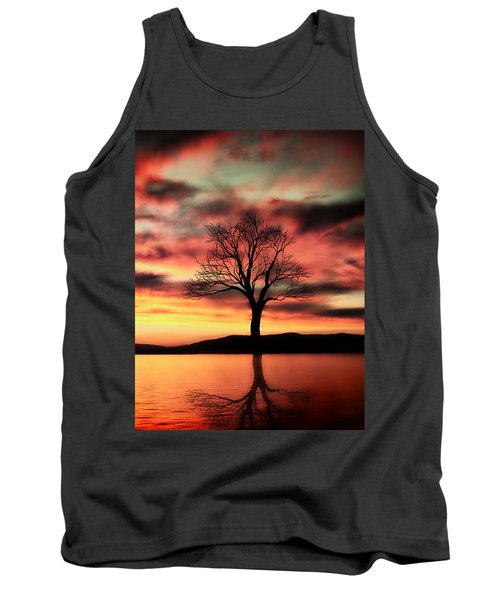 The Memory Tree Tank Top by Ally  White