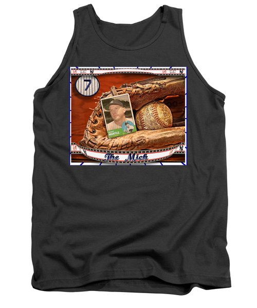 The Mick Tank Top by John Anderson
