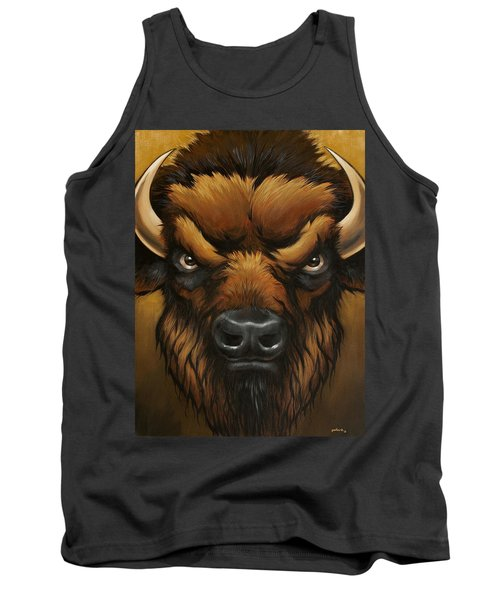 The Mighty Bison Tank Top